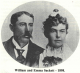 William Wallace Sackett (1866-1915) and Emma M. Watkins (1879-1960) in 1898